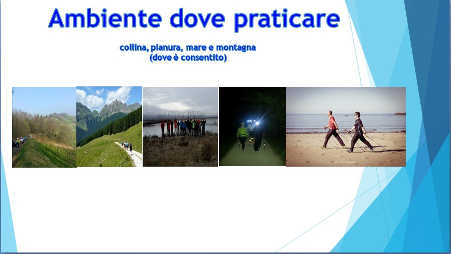 Dove si pratica il nordic walking